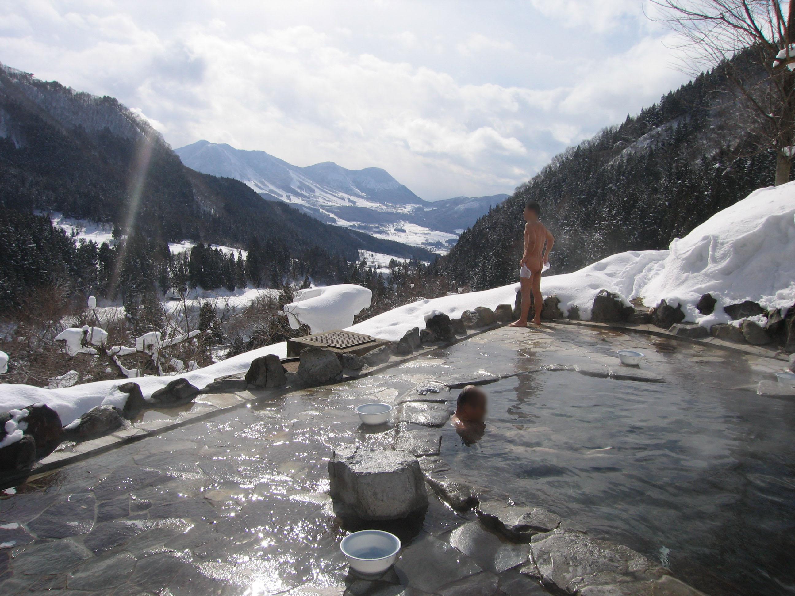 Baños Japoneses Onsen: japoneses no sólo es cuestión de higiene sino de purificación del