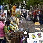 Barrio de los Pintores en Montmartre