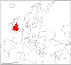 Inglaterra mapa