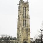 Place du Châtelet y la Torre de St. Jacques