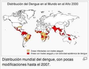 mapa dengue