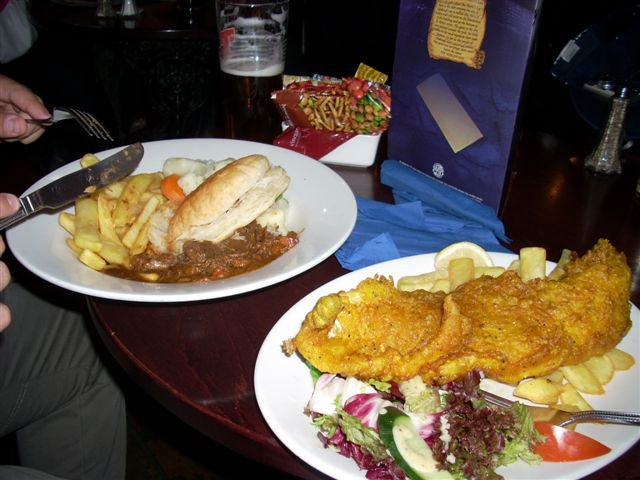 14. Fish and chips. Escocia.