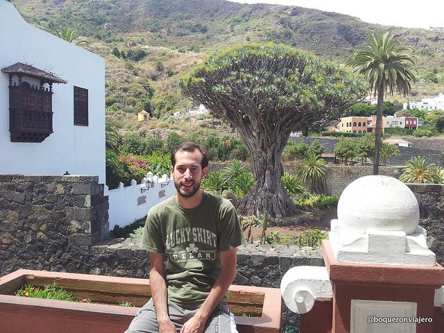 Pedro en Tenerife