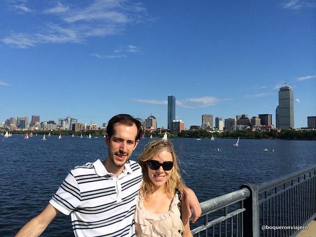 Pedro y Abby en Boston