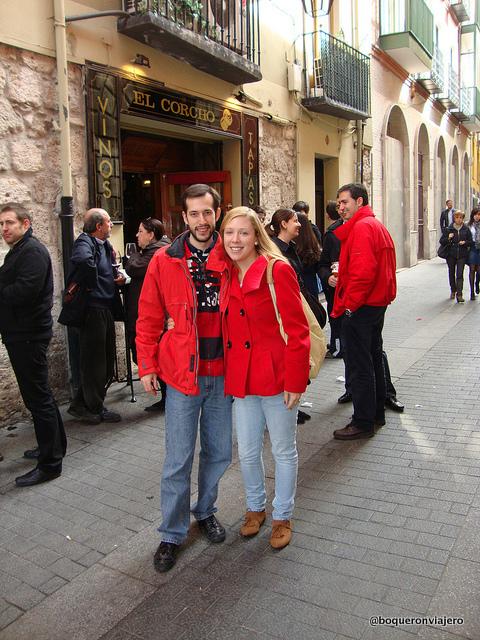Pedro y Abby en Valladolid