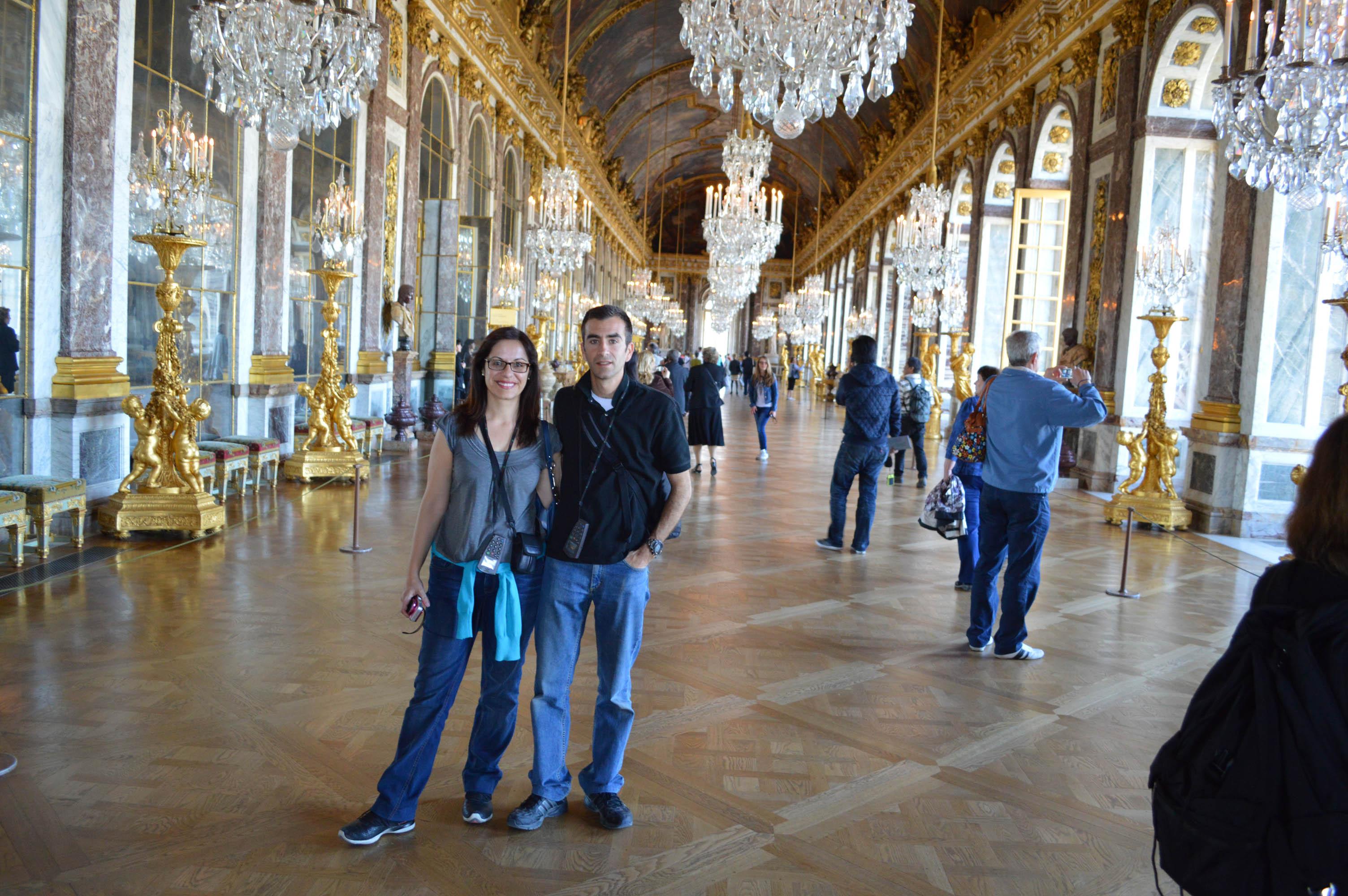 El palacio de versalles viajes de ark for Salon los espejos