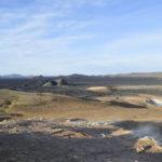 Los campos de lava del Krafla