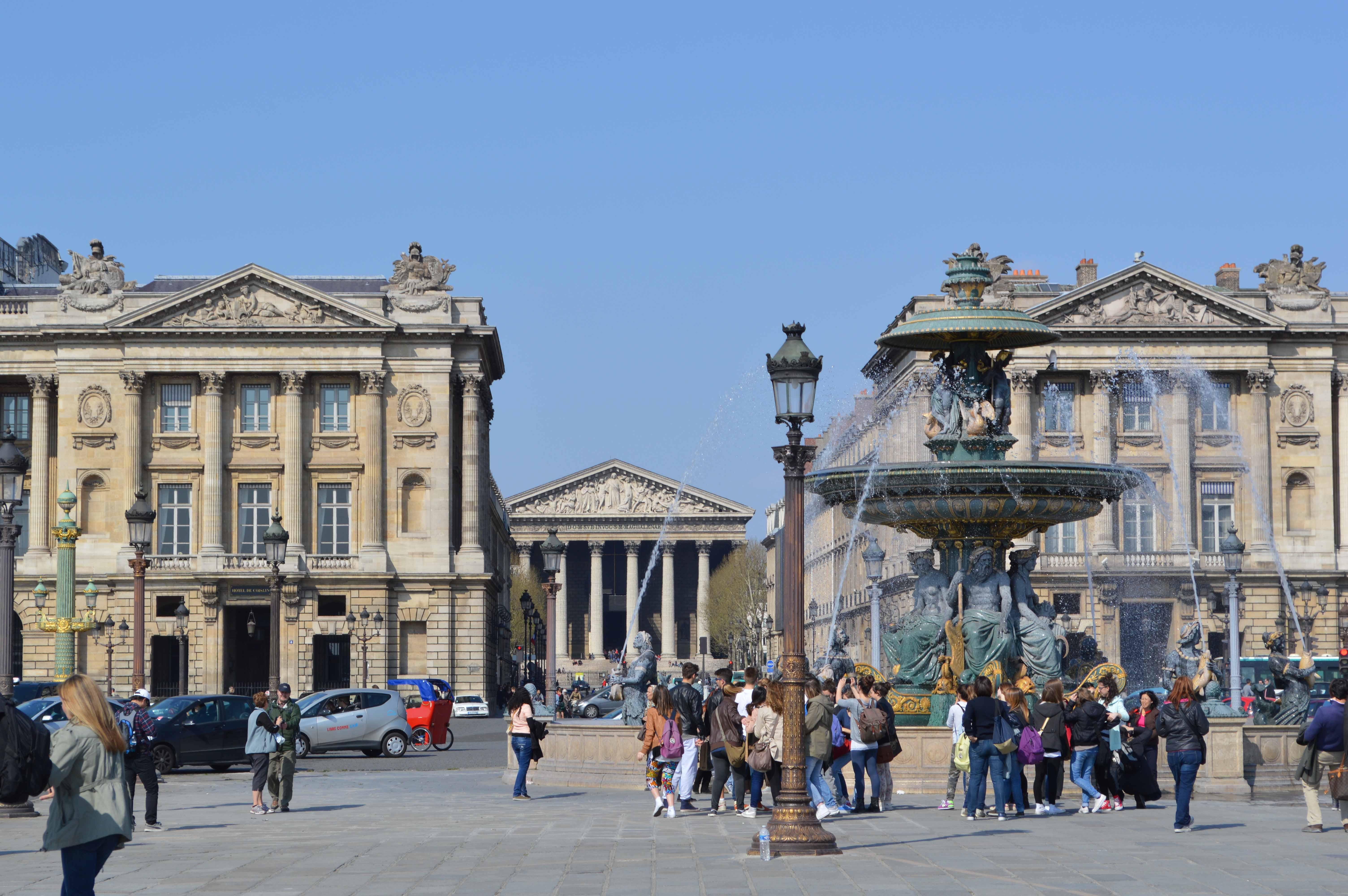 Plaza De La Concordia plaza de la concordia y el obelisco de luxor   viajes de ark